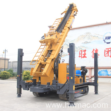 Full Hydraulic Crawler Water Well Rig